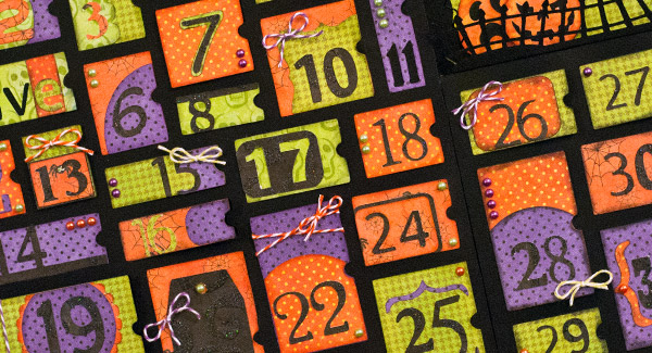 Trick or Treat Halloween Calendar by Cheryl Becker