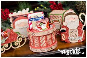 Santa's Visit SVG Kit