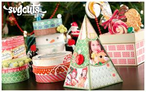 December Gifts SVG Kit