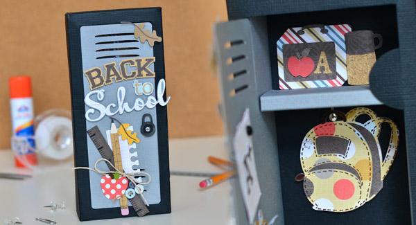Back to School Locker Gift Box by Thienly Azim