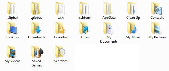 personal-folder-contents-screenshot