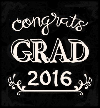 Free SVG File – 04.25.16 – Congrats Grad 2016 Caption
