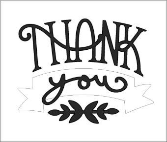 Free SVG File – 05.14.16 – Thank You Card