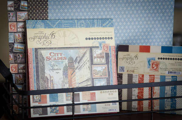 Graphic45 Cityscapes Paper Giveaway from SVGCuts