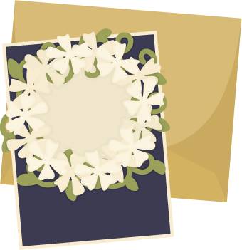 Free SVG File – 06.13.16 – Floral Circle Card