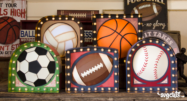 Game Day Marquee Signs SVG Kit