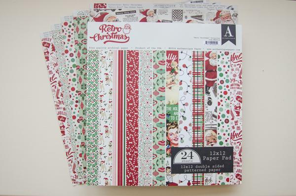 Authentique's Retro Christmas Paper