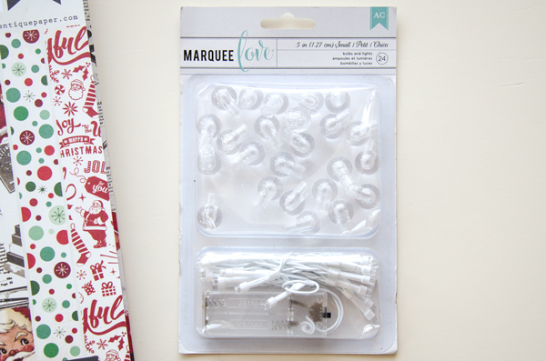 American Crafts Heidi Swapp Marquee Love Bulb and Light Kit Small