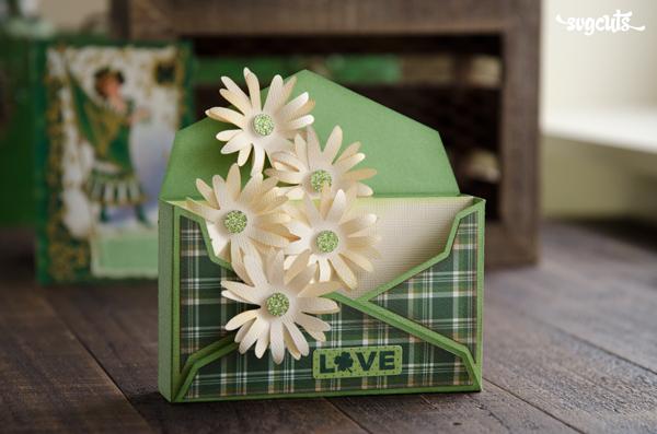 Saint Patrick's Mail Box Card