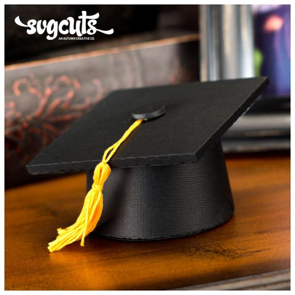 DIY Paper Graduation Cap Gift Box