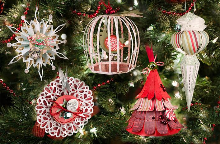 Christmas Ornaments SVGCuts