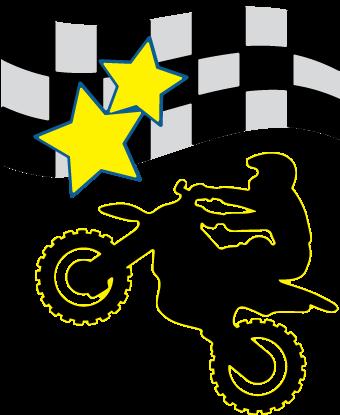 Motocross Rider SVG File