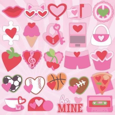 24 Valentines SVG Kit Blog