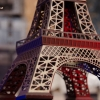Paper Eiffel Tower from the Travel the World SVG Kit