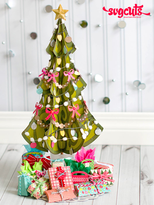 A Very Merry Miniature Christmas Tree by Thienly Azim ...