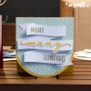 Free Banner Card from SVGCuts #svgfiles #svgcuts #birthday #congratulations #thankyou