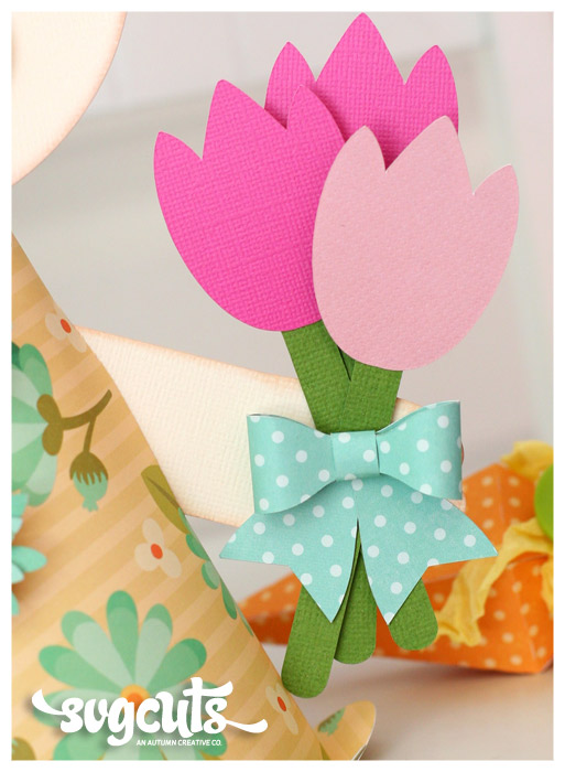Blossom Bunny Decoration By Tamara Tripodi SVGCutscom Blog