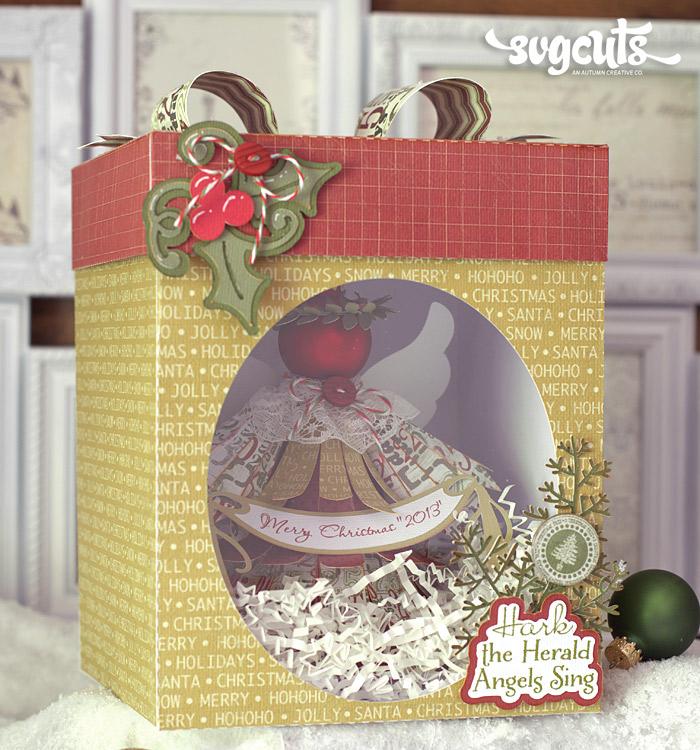 Christmas Angel Ornaments By Brigit Mann Svgcuts Com Blog