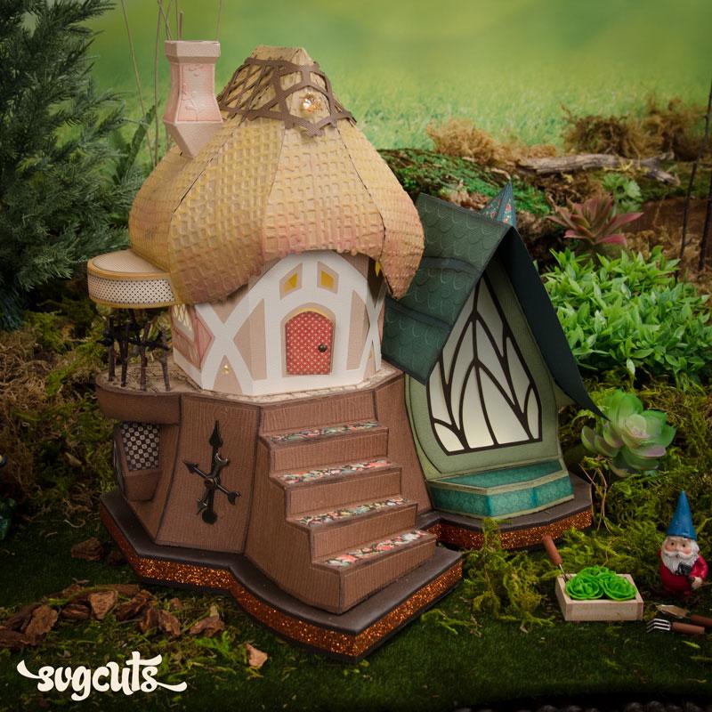 Fairy Cottage SVG Kit
