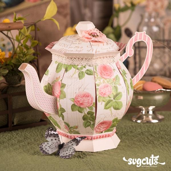 Honeybee Tea Svg 01 Lrg