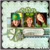 st-patricks-day-scrapbook-layout