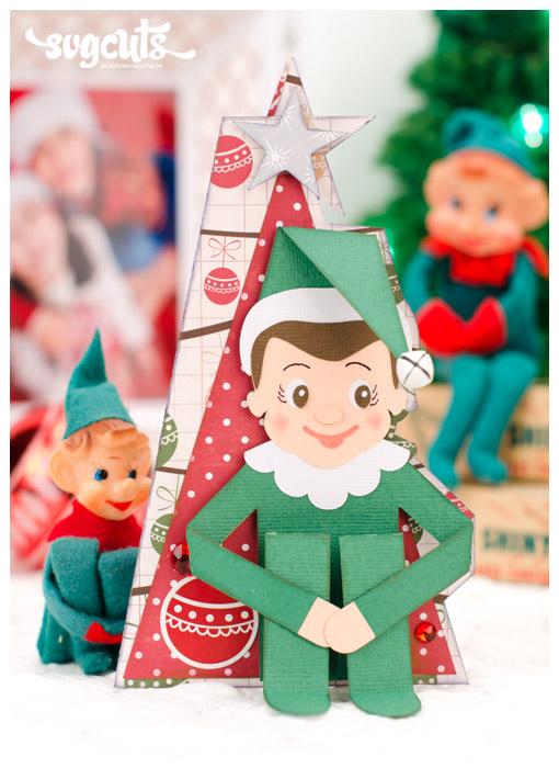 Santa S Helpful Elves Svg Kit Svgcuts Com Blog