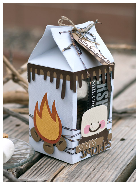 S'mores Gift Package by Kristin Courtney | SVGCuts.com Blog