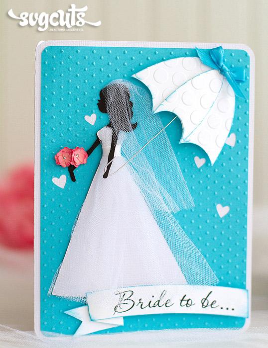 Something Blue Bridal Shower Card And Tag By Ilda Dias