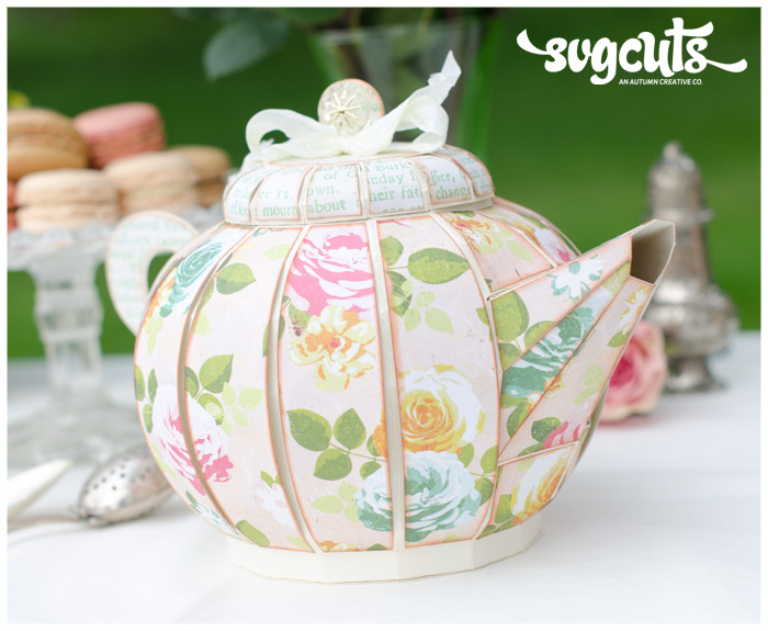 Teapot Invitation Template for luxury invitation template