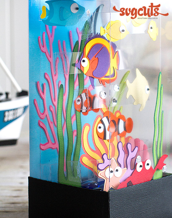 Tropical Fish Aquarium By Ilda Dias Svgcuts Com Blog