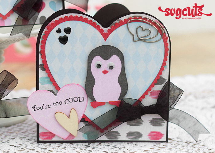 Valentine S Day Card Trio By Corri Garza Svgcuts Com Blog