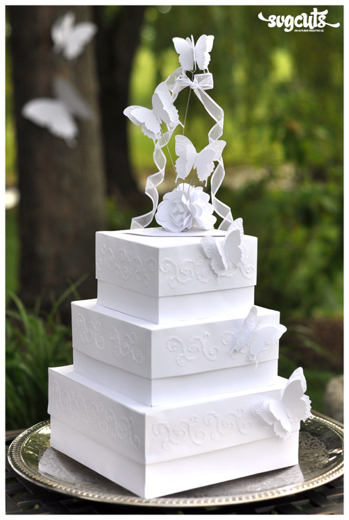 It\'s A Nice Day For A White Wedding Cake – Fleurette F. Bloom ...