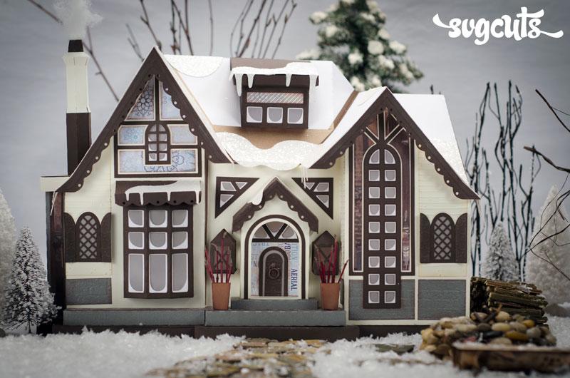 Winter Lodge Svg Kit Svgcuts Com Blog