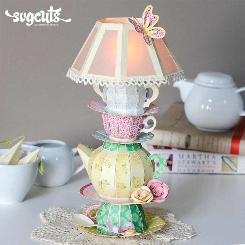 Wonderland Lamp By Thienly Azim | SVGCuts.com Blog