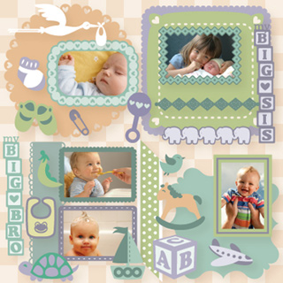 Little Sweet Peas SVG Collection