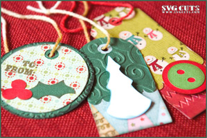 Double Layer Tags Galore SVG Kit