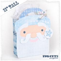 Big Christmas Gift Bags SVG Kit