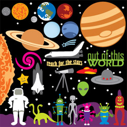 Out of this World SVG Collection