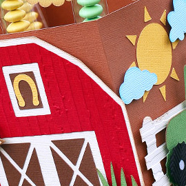 With a 'moo-moo' here and a 'moo-moo' there, these birthday party favors will surely put a smile on your little farmer's face! Of course you're not limited to just farm animals, you can make this basic design work with ANY theme!