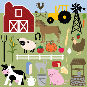 Grandpa's Organic Farm SVG Collection