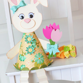 Blossom Bunny Decoration by Tamara Tripodi