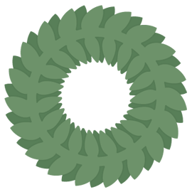 wreath-free-svg-icon