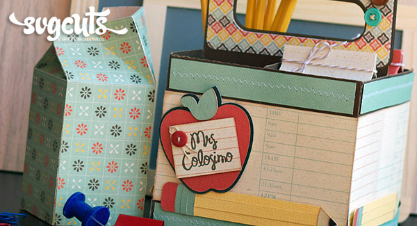 Back to School Teacher Gift by Amy McCabe   SVGCuts.com Blog
