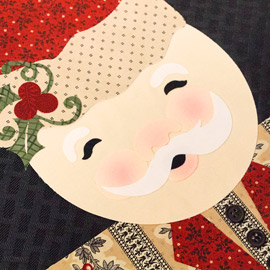 Santa Claus Placemat by Kathy Helton