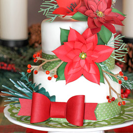 Christmas Cake a la SVG Cuts by Ilda Dias