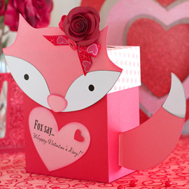 Foxy Valentine's Day Mail Box by Ilda Dias