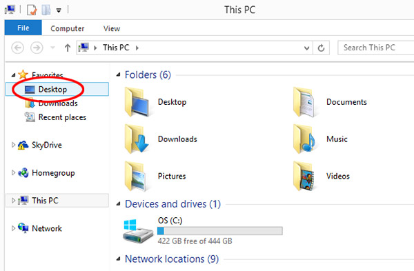 Where do downloaded files go on your PC?