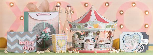 carousel ride svg kit