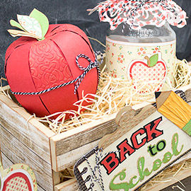 Back to School Gift Crate by Chantel Schroder