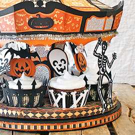Halloween Party Carousel by Hilary Kanwischer